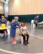 Usuarios y trabajadores de los Centros de Día para la Discapacidad y Personas Mayores reciben la primera dosis de la vacuna contra el COVID-19 - Foto 1