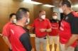 El Ayuntamiento realiza una recepción institucional al equipo Framusa Totana Tenis de Mesa por su éxito en los Campeonatos de España de Veteranos, celebrados en Antequera (Málaga) - Foto 2