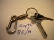 Ver foto 123 - EXPTE.86/19 2 LLAVES DE PUERTA CON UNA ARGOLLA Y UNA ANILLA