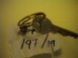 Ver foto 94 - EXPTE.197/19 1 LLAVE PEQUEÑA DE PUERTA EN UNA ANILLA